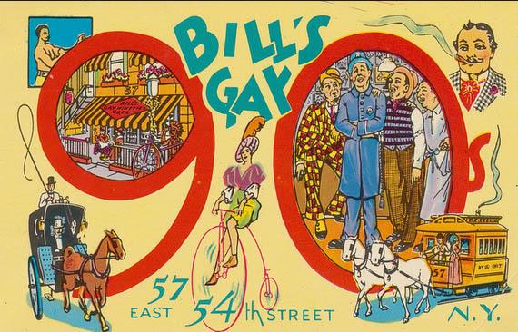 from Cairo bills gay nineties new york