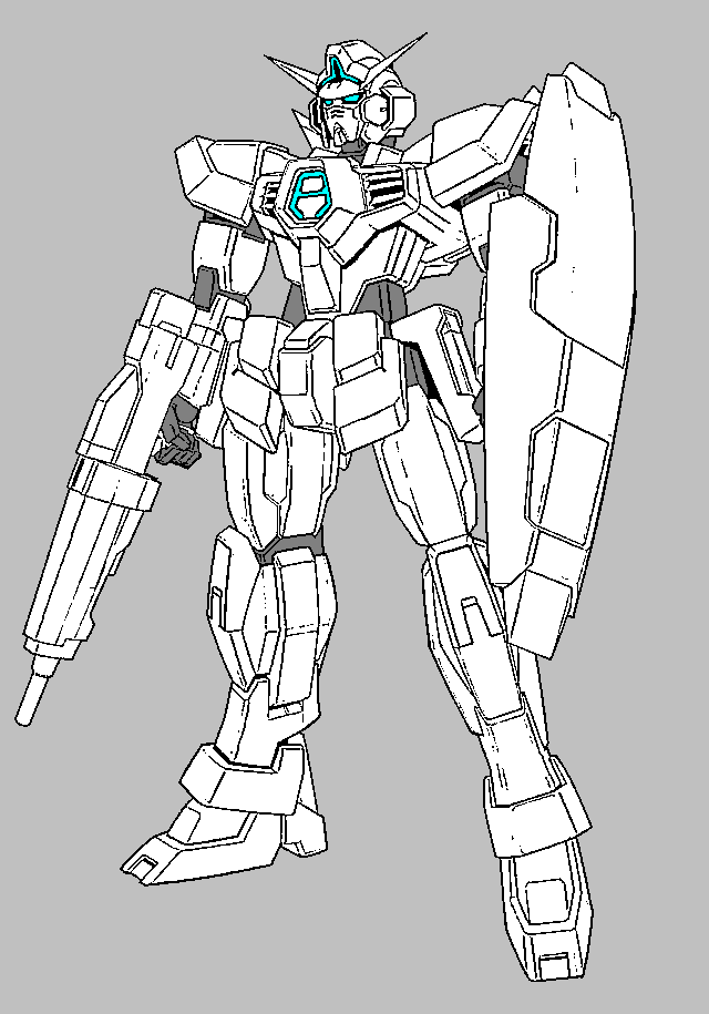 g gundam coloring pages - photo #5