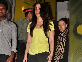Kareena Kapoor at premiere of Agent vinod
