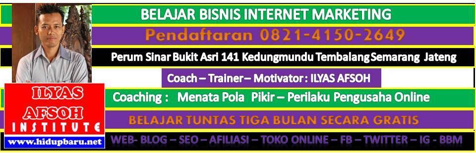 MENTOR BISNIS ONLINE : 0858-6507-9257 [INDOSAT]