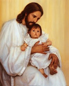 Letícia 1 ano e seis meses no colo de Jesus