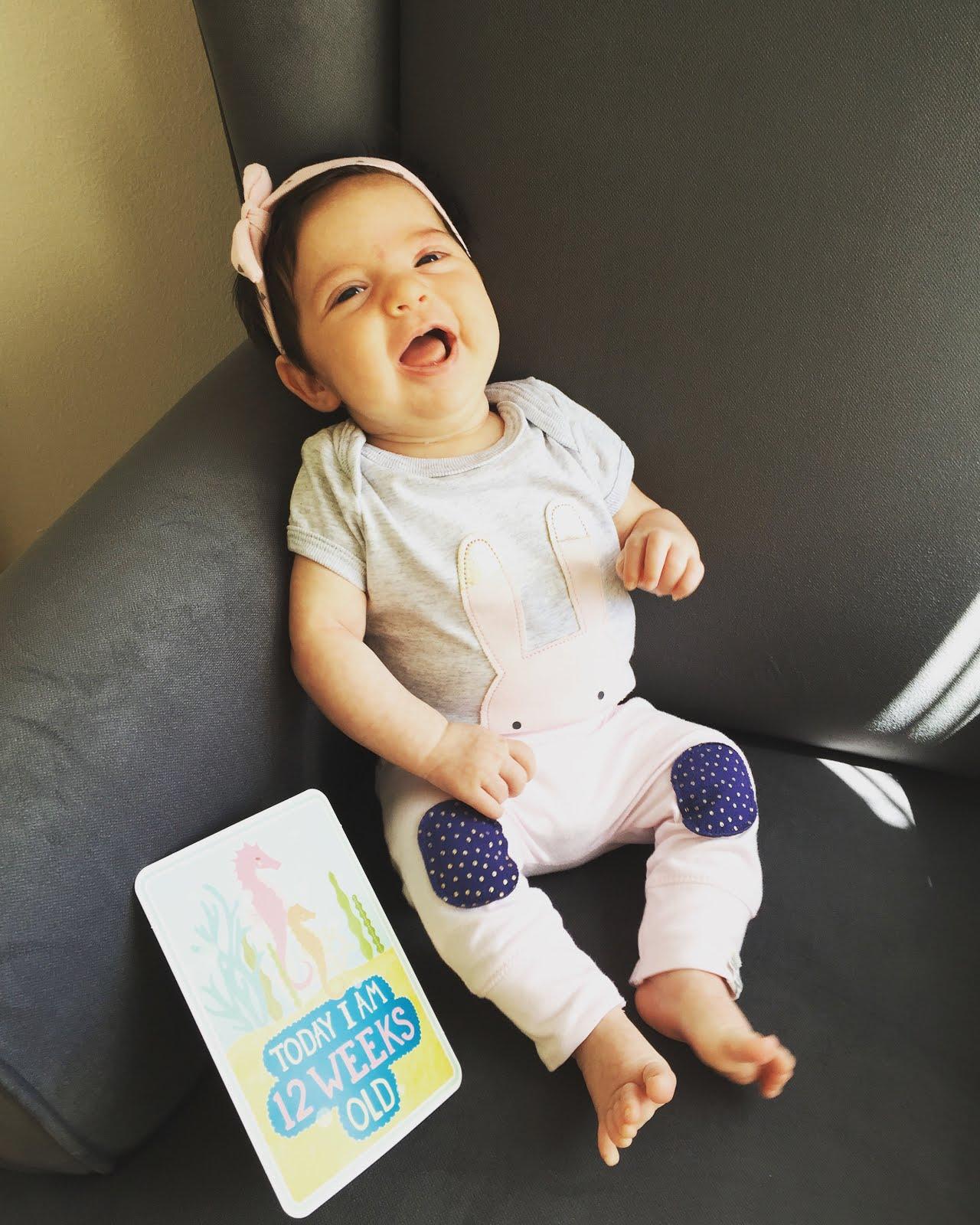 Ella 3 months