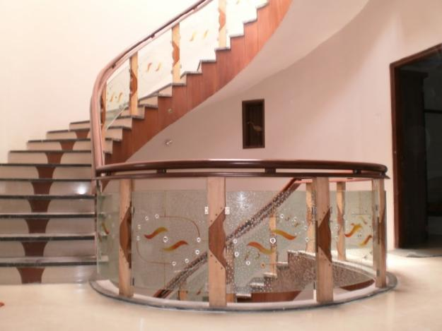 Attirant Modern Homes Stairs Designs, Wooden Stairs Railing Ideas.