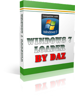 Windows 7 loader by daz - cover