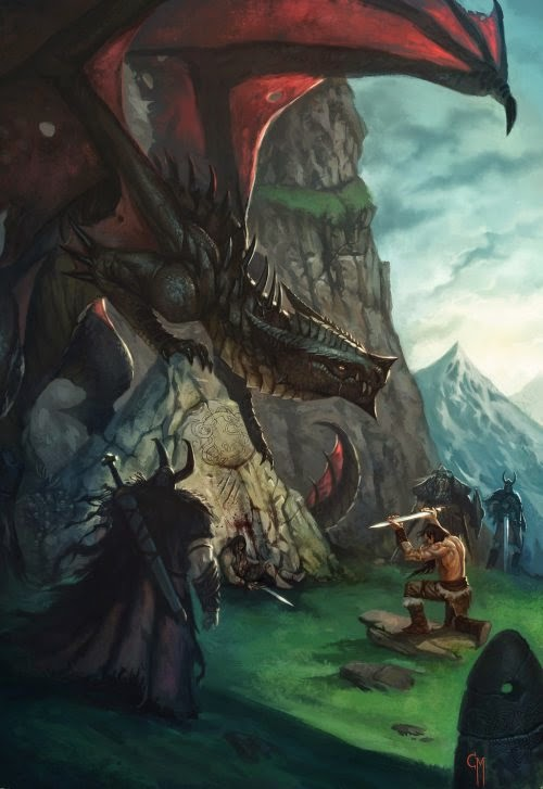 Caio Monteiro deviantart ilustrações fantasia rpg games