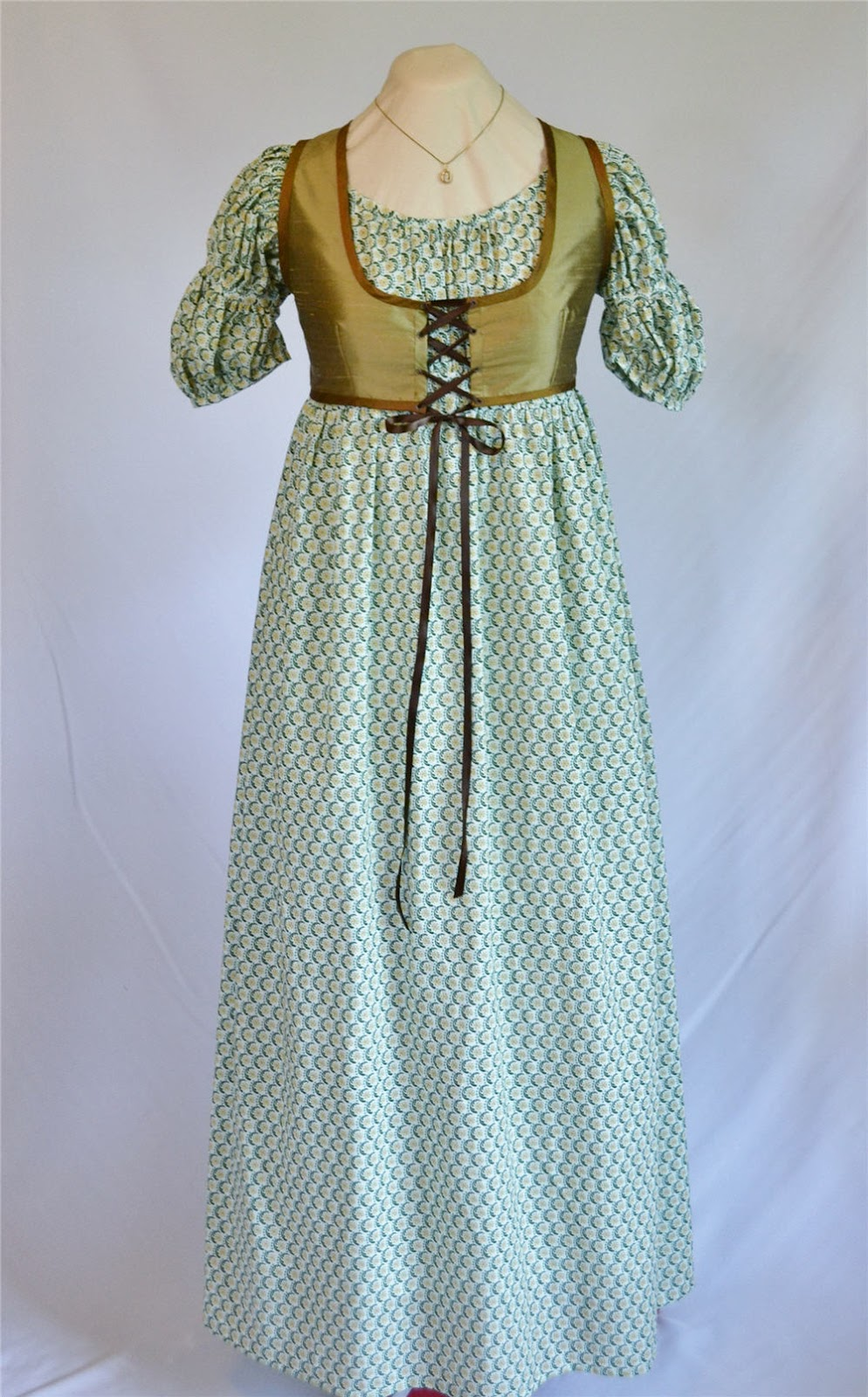 The Story Of A Seamstress New Regency Dresses And Weskits