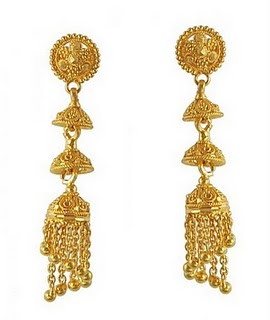 Indian Gold Earrings Jewellery