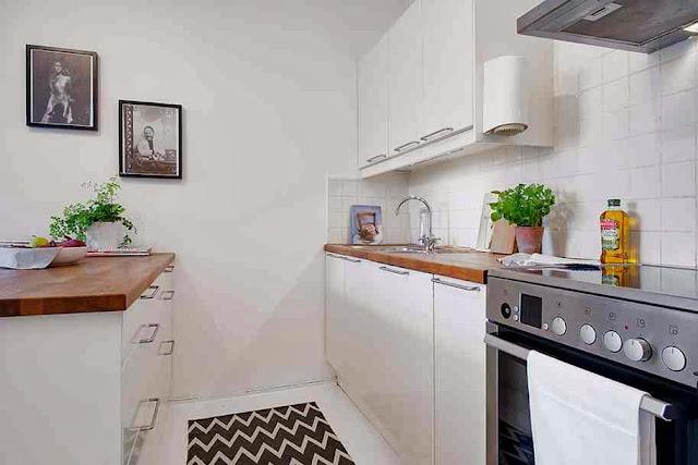Kuchnia oddająca klimat skandynawskich wnętrz