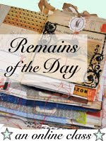 Just joined Mary Ann Moss' Remains of the Day journal class!!!!