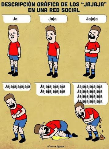 Humor grafico para redes sociales.