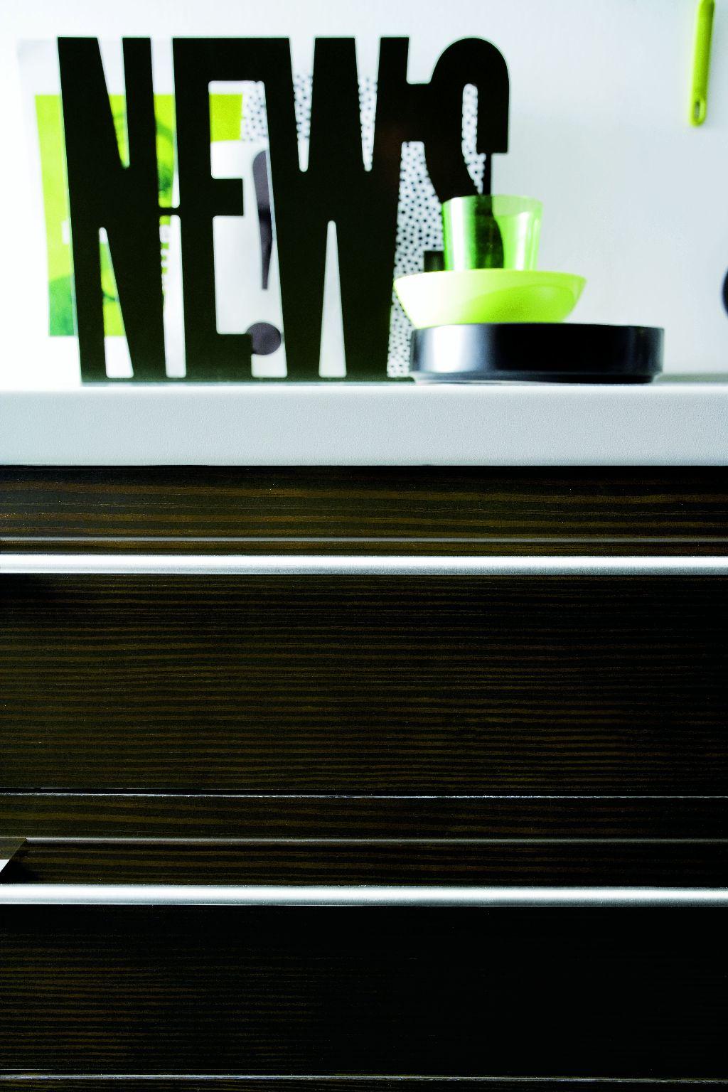 cuisine design bois et blanc. Black Bedroom Furniture Sets. Home Design Ideas