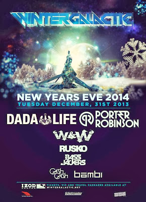 GDE: Winter Galactic NYE 2014 Tickets Tues. Dec. 31st 2013 - Lineup
