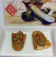 Tosta de Pate de Berenjena