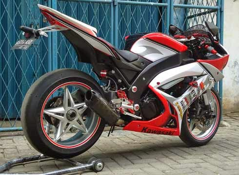 Modifikasi Ninja 150 R, motor ninja racing