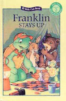 bookcover of FRANKLIN STAYS UP  by Sharon Jennings