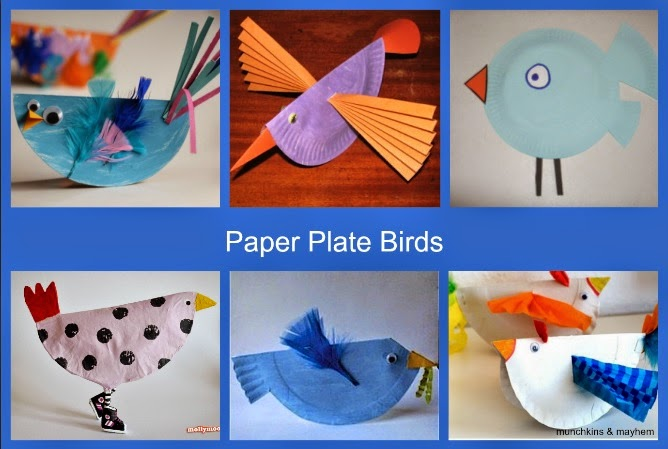 Monday January 5 2015  sc 1 st  Munchkins and Mayhem : paper plate parrot craft - pezcame.com