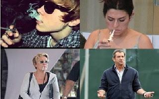 Neste sábado (29), é celebrado o Dia Nacional de Combate ao Fumo, com o objetivo de conscientizar e ajudar as pessoas que não conseguem largar o cigarro. Claro que muitas celebridades não escaparam do vício. Veja a seguir quais famosos fumam ou já fumaram.