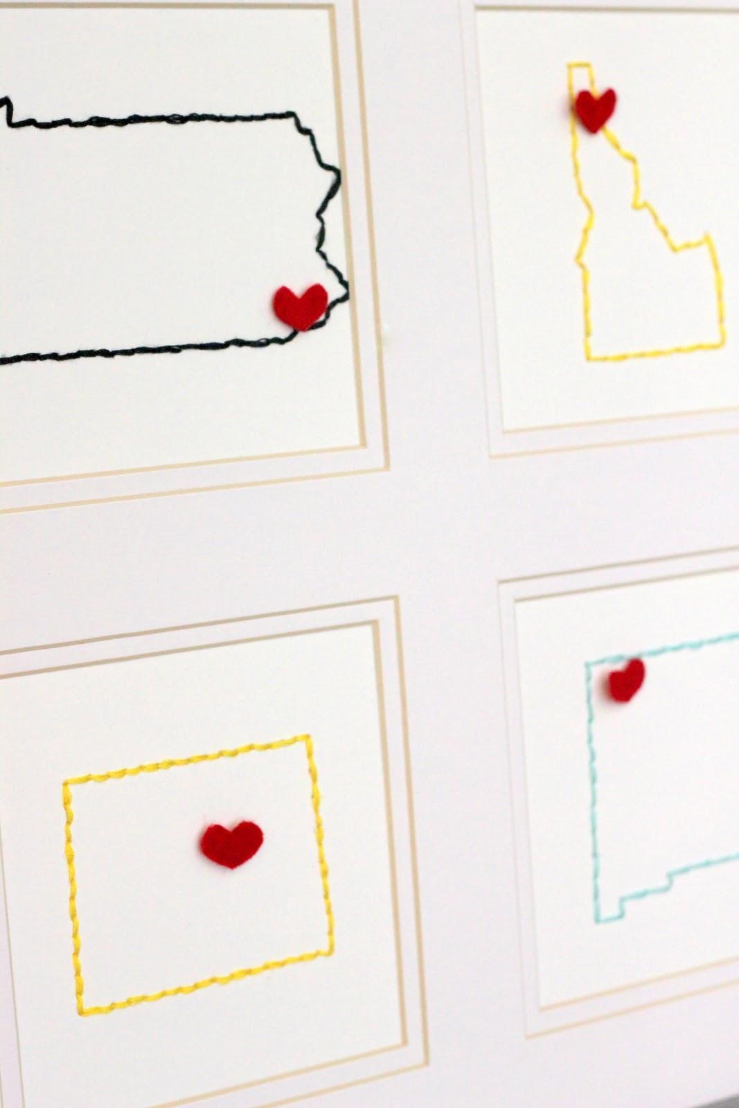 Good DIY Embroidered Wall Decor Kojo Designs