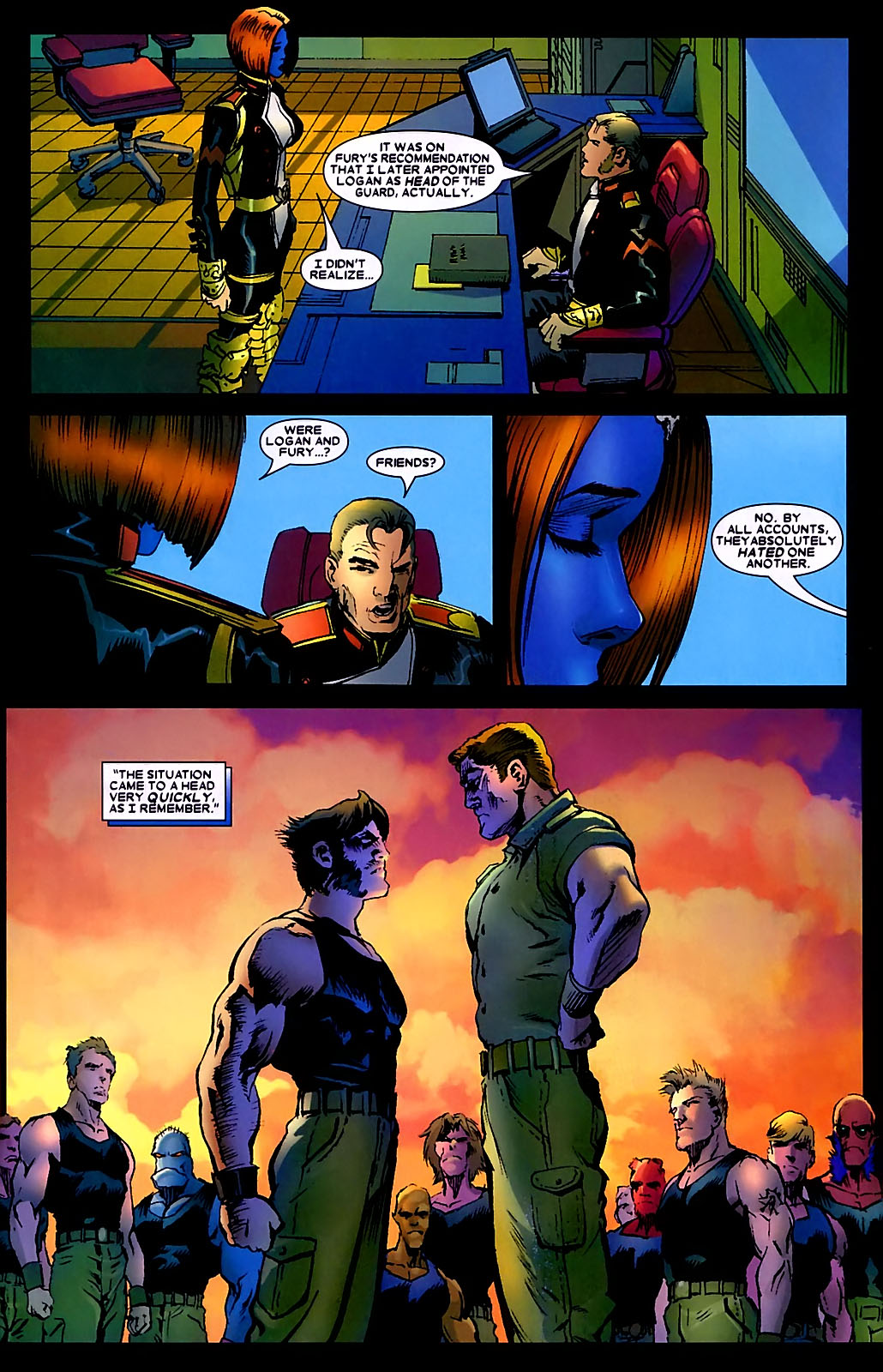 Read online Wolverine (2003) comic -  Issue #34 - 11