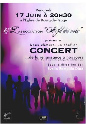 affiche concert Bourg de Péage