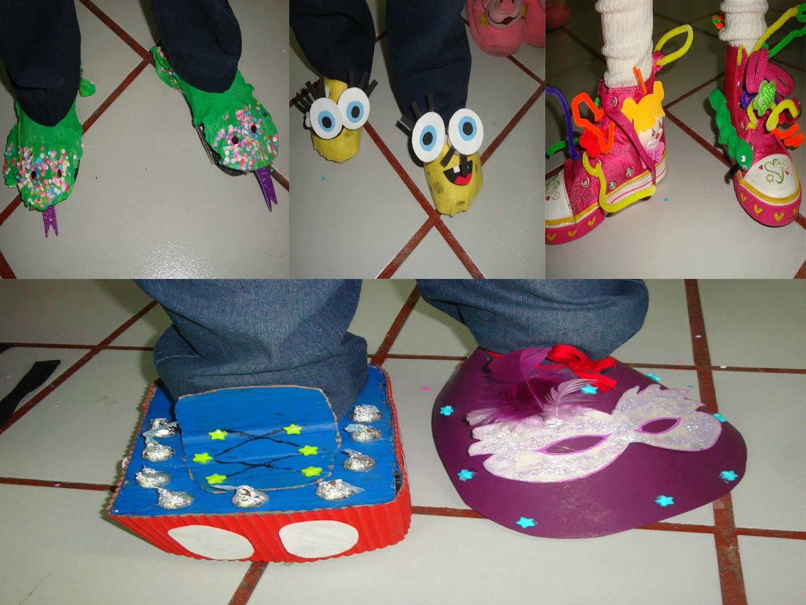 Colegio espa ol - Ideas para decorar zapatos de nina ...