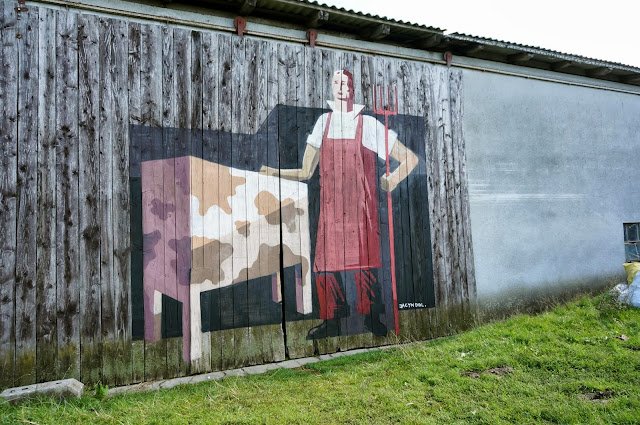 Several New Pieces From Polish Street Artist Jacyndol on the streets of Miechucino & Gdynia, Poland. 5