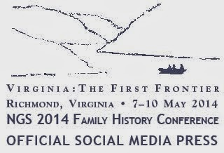 2014 NGS Conference follow me @ancestryjourney