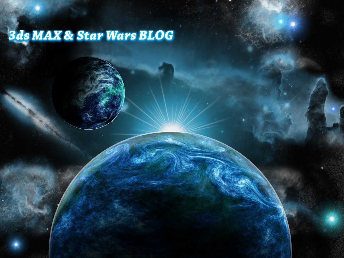 3ds max & star wars blog