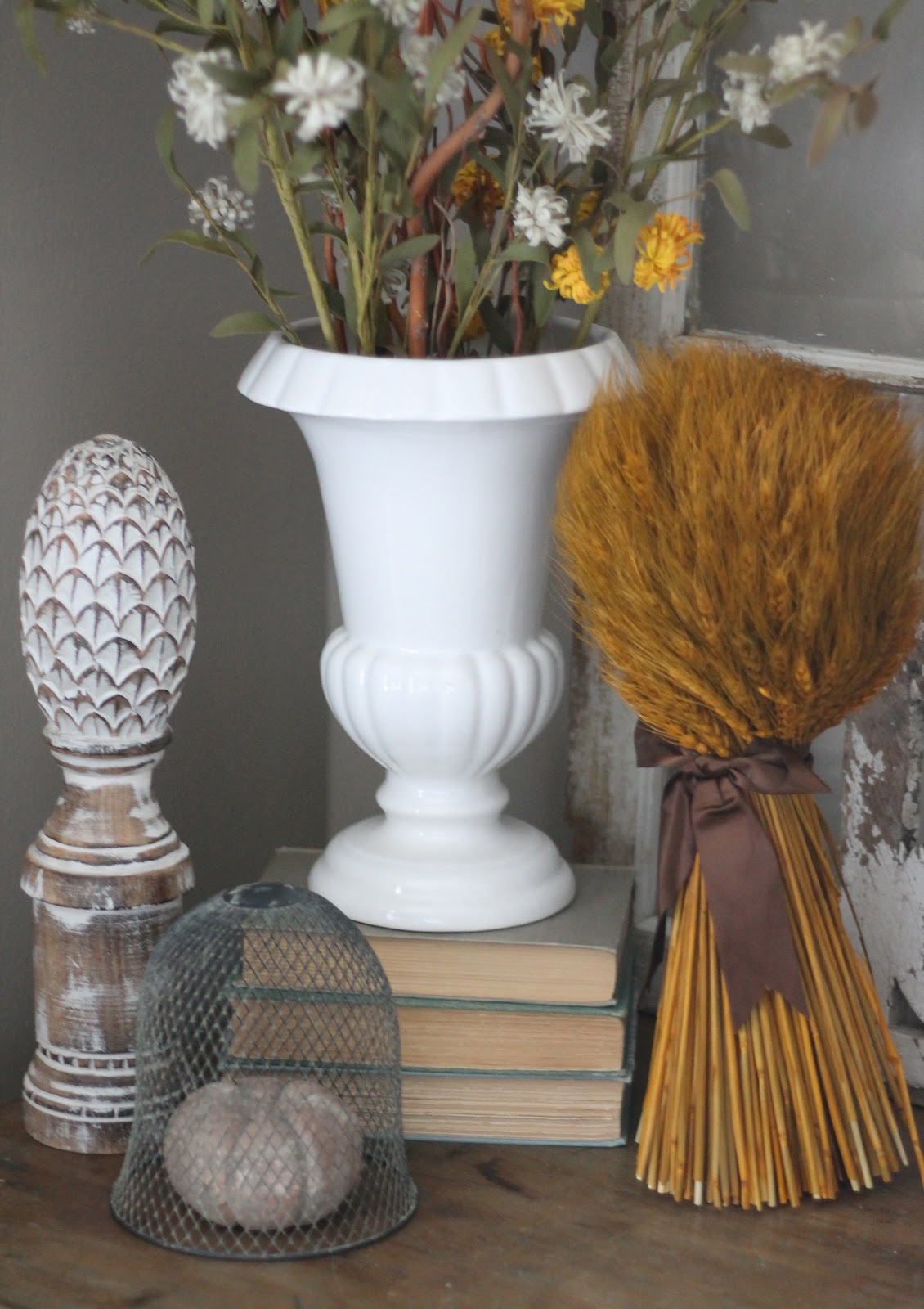 12th and white autumns arrival i was so thrilled to find this neutral fall vase filler at tj maxx i love warm colors during the fall but sometimes i dont want tons of bright orange reviewsmspy