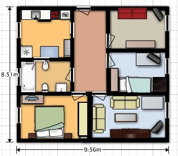 El blog de daniel rodr guez plano de mi casa for Planos para mi casa