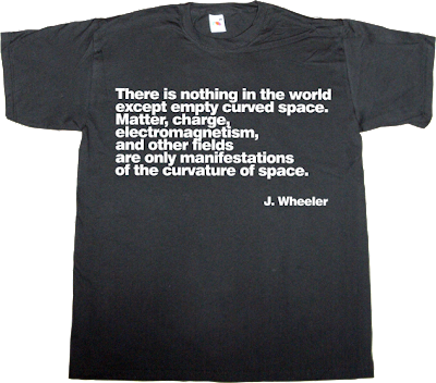 science brilliant sentence Physics t-shirt ephemeral-t-shirts