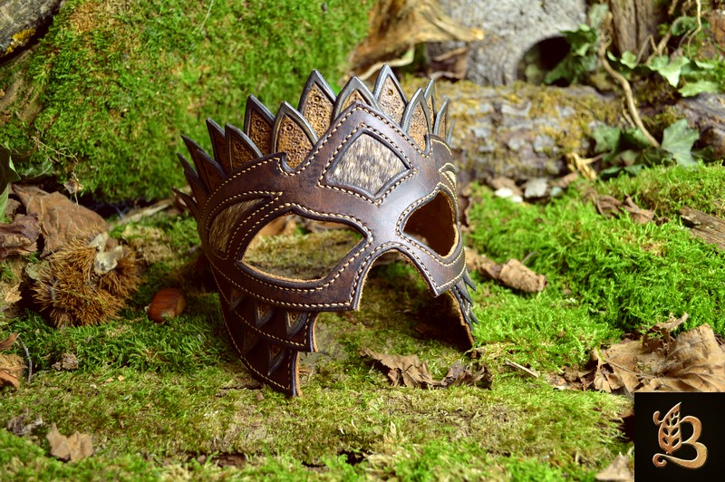 masque cuir belfeuil