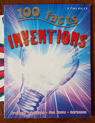 100 Facts Inventions children's fact book from Miles Kelly