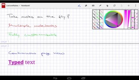 Menulis Tangan Di Android