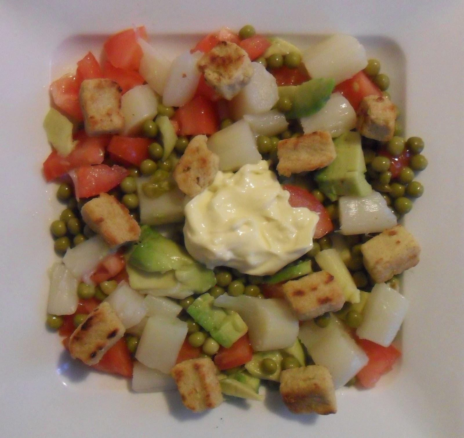 salade met sla