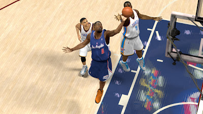 NBA 2K13 Clippers Blue Alternate Missing White Jersey
