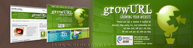 growURL DMOZ Technorati