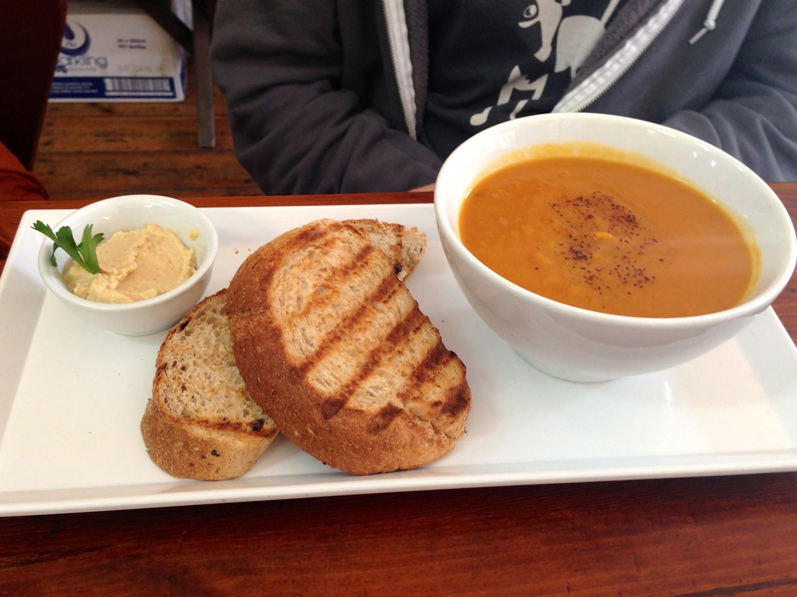 Pumpkin Soup - Red Lime Shack, Port Adelaide