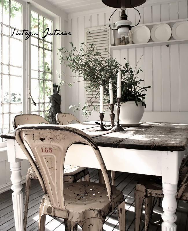 Amores bohemios...: decorar con candelabros vintage