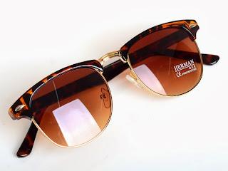 HOT New Classic Popular Unisex Retro Avaitor Golden Mirrored Sunglasses Glasses
