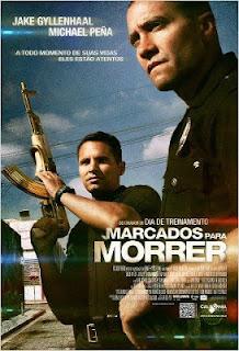 """Poster do filme """"Marcados para Morrer"""""""