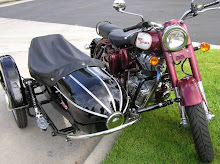 Calif. C5 with sidecar