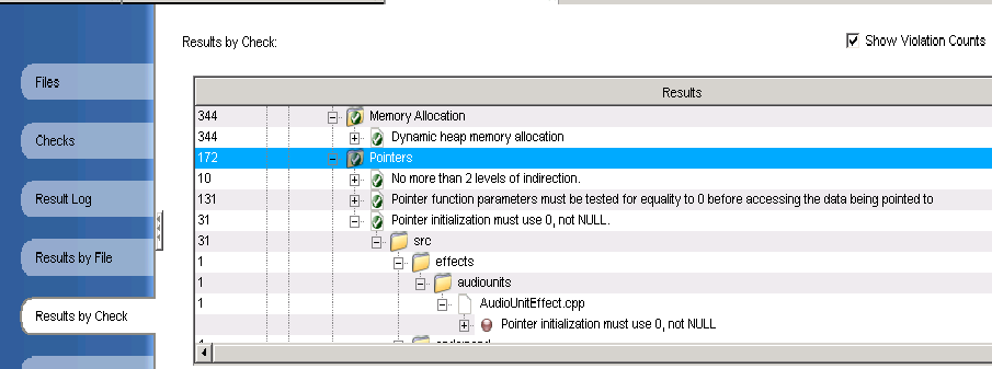 understand code analysis