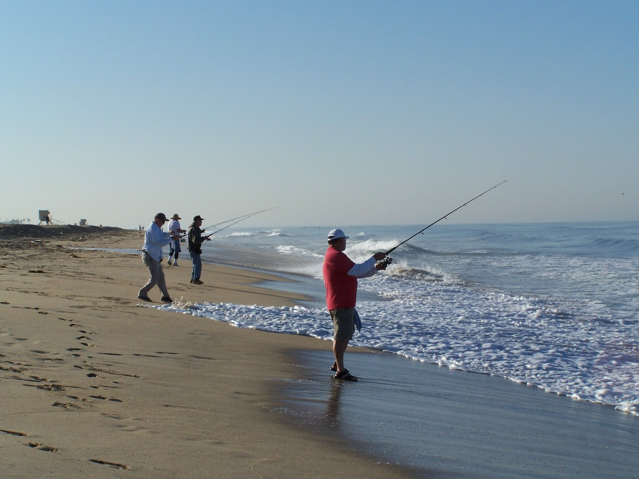 The gallery for beach fishing for Nj surf fishing report