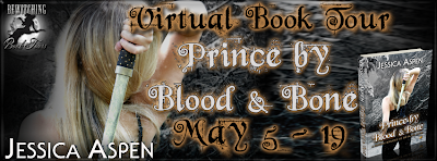 Spotlight Blog Tour: Prince by Blood and Magic by Jessica Aspen (GIVEAWAY!)