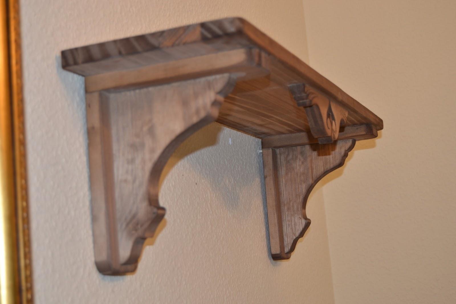 RÚSTICA EN MADERA : Balda de madera para pared tallada. (Art. 070 #CC7000 1600x1066