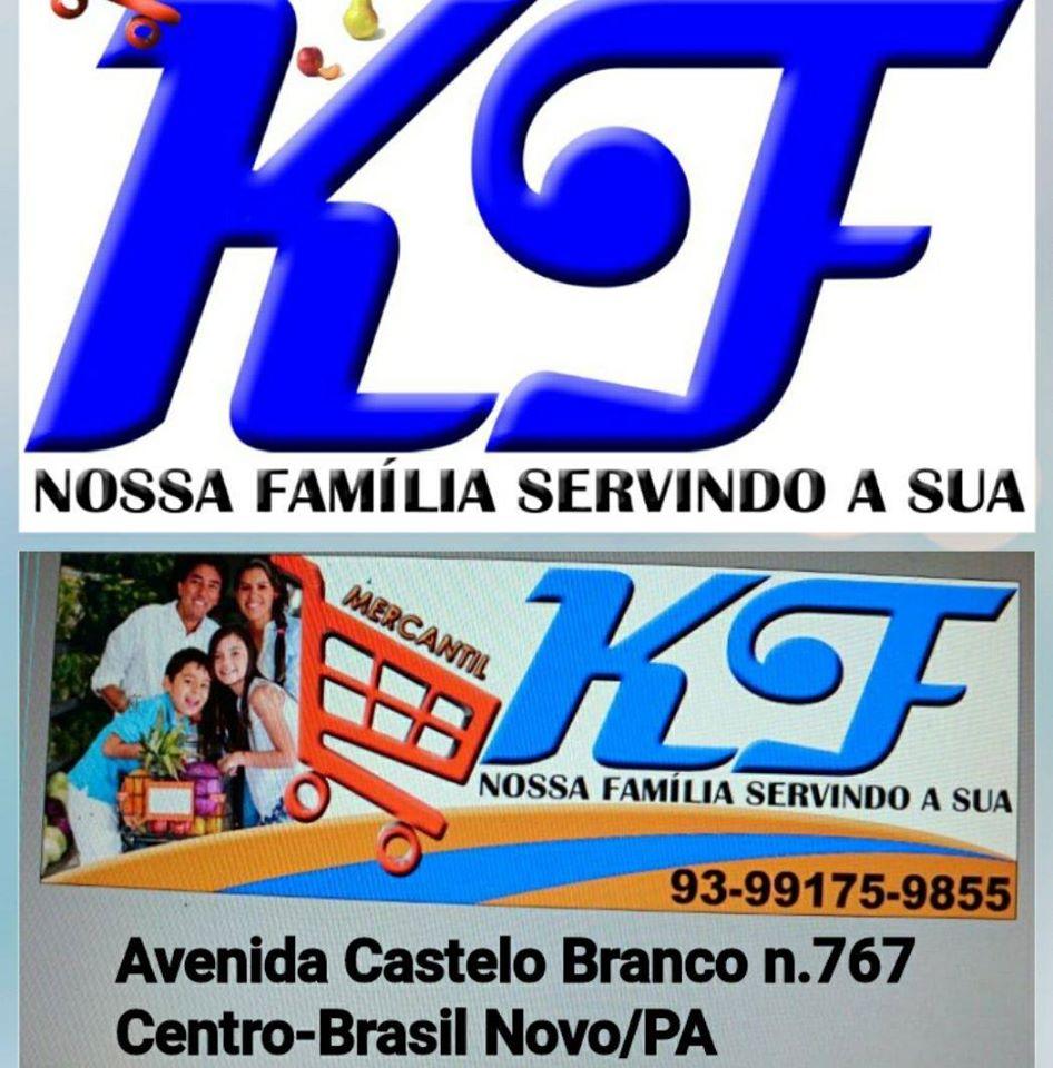 """KF Mercantil - """"Nossa Família servindo a sua"""""""