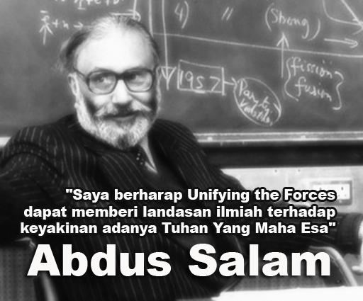 Biografi singkat Abdus Salam fisikawan muslim dari Pakistan