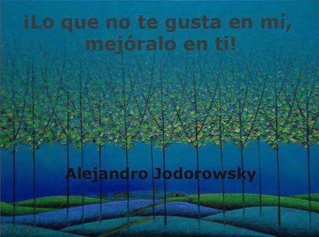 superacion personal para vivir mejor, alejandro jodorowsky