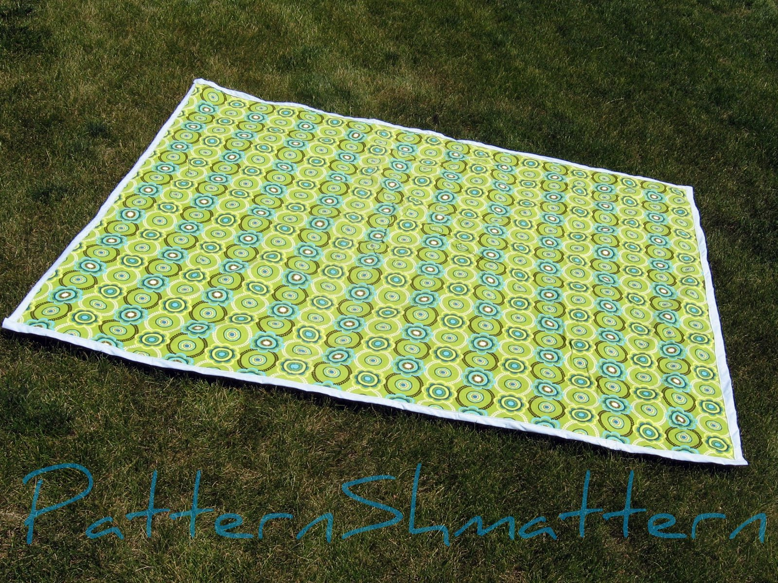 Pattern shmattern tutorial curtain upcycled to for Au maison picnic blanket